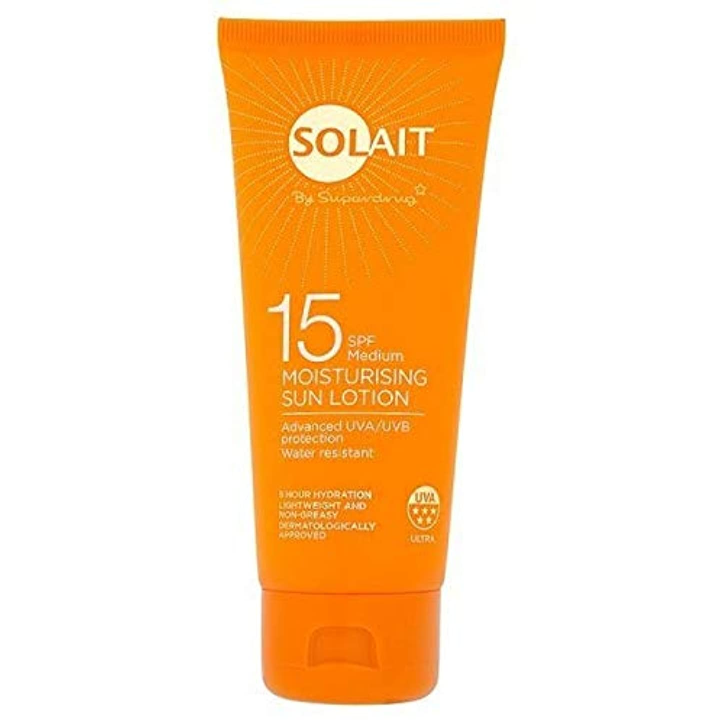シェトランド諸島合成省略する[Solait] Solait日クリームミニSpf15の100ミリリットル - Solait Sun Cream Mini SPF15 100ml [並行輸入品]