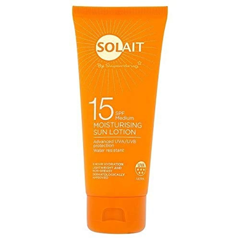 [Solait] Solait日クリームミニSpf15の100ミリリットル - Solait Sun Cream Mini SPF15 100ml [並行輸入品]