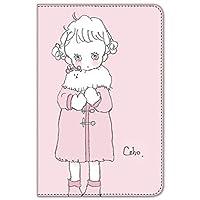 caho iPad mini 1/2/3 ケース 手帳型 プリント手帳 コートと少女E (ch-020)