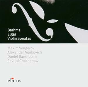 Brahms/Elgar: Violin Sonatas