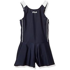 (フィラ) FILA(フィラ) FILA スクール水着 タンキニ/キュロパン124685ガールズ 124685 NWT ネイビーホワイト 120
