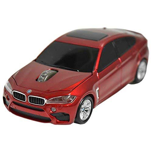 LANDMICE BMW X6シリーズ 無線カーマウス 2.4Ghz 1750dpi レッド BM-X6M-RE LANDMICE [簡易パッケージ品]