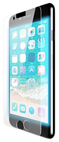 iPhone8Plus フィルム ブルーライトカット 光沢 PM-A17LFLBLGN 1枚
