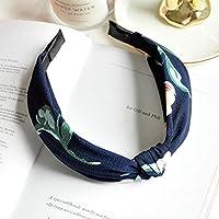 AKDSteel Women Girls Headband Top Knot Turban Headband Cross Bandage Scarf Hair Accessories 21#