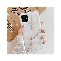 新しいIphone 11 11Pro Max X XS Max XR 7 8 Plus 6 6S Soft IMD Back Cover用の滑らかでカラフルな大理石の花崗岩の石の電話ケース,For iphone XS,Style 19