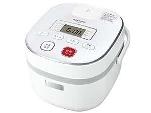 シャープ 電子ジャー炊飯器0.54Lタイプ ホワイト系 KS-C5F-W