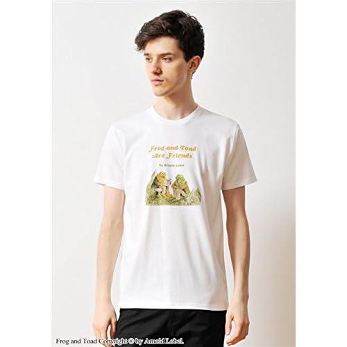 (グラニフ)graniph コラボレーションTシャツ / ふたりはともだち ( がまくんとかえるくん ) ( ホワイト ) S