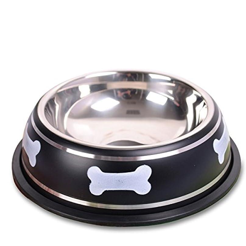修理可能狂人抵抗PETCUTEペット用 ステンレス製ボウル ペットディッシュ 食べやすい食器 こぼれ防止 給水器 給餌器 骨プリント 滑り止め コンテナー シンプル おしゃれ ギフト 犬猫対応 ワンチャン 猫ちゃん 赤