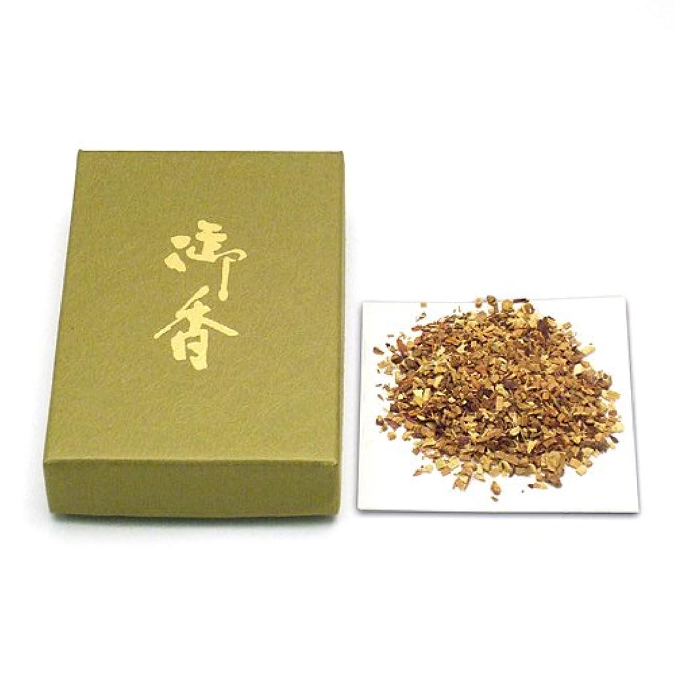 アルプスカニ古い焼香用御香 祥雲印 25g◆お焼香用の御香