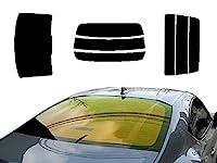 AUTOMAX izumi リアガラスのみ パジェロイオ 3D H6 (ミラー金) カット済み カーフィルム H61W H62W H66W H67W 3ドア用 ミツビシ