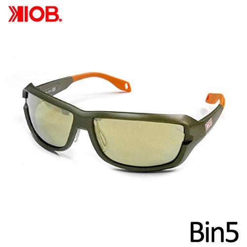 ケナイオビー ビンゴ ガンメタルフレーム 偏光グラス KIOB Bin5 ラスターオレンジ/SLミラー レンズカラー/ミラー色