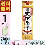 清州城 天下泰平 本格麦焼酎 25度 2.7L (2700ml) パック 6本入 1ケース(6本)