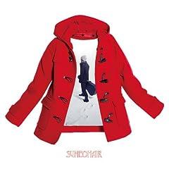 赤いコート♪スネオヘアーのCDジャケット
