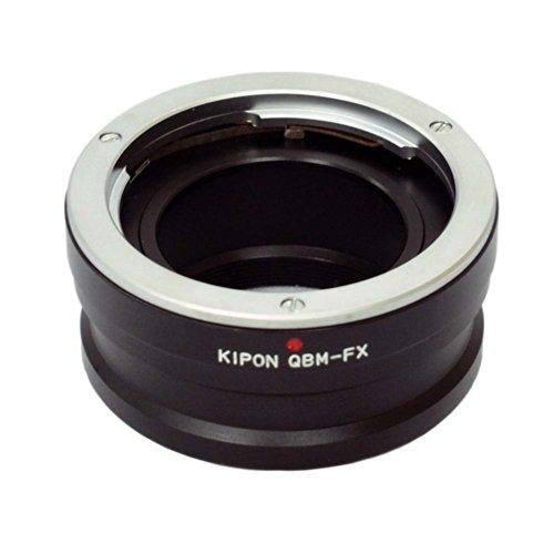 KIPON マウント変換アダプター QBM-FX ローライQBMマウントレンズ - 富士フィルムXマウントボディ用 013083 QBM-FX