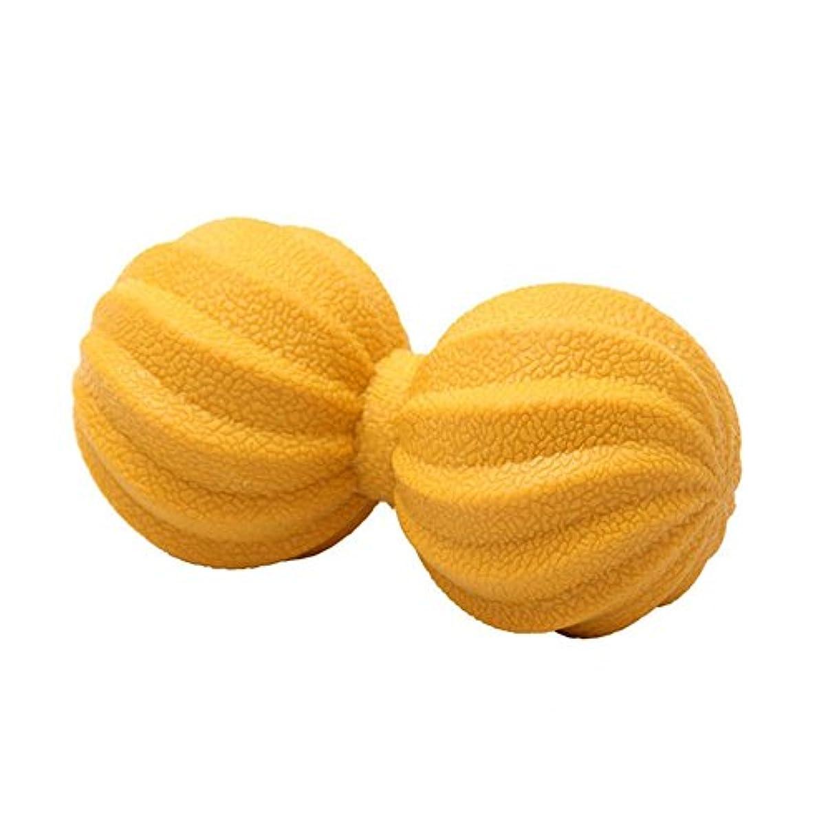 一人でパーフェルビッド寄生虫マッサージボール TPE 痛み緩和 ホッケーボール 肩/背中/腰/ふくらはぎ/足裏 筋膜リリース 血液循環