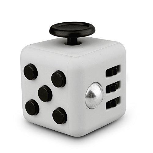 QQPOW 6in1 ストレス解消キューブ 不安の子供 大人のおもちゃ 不安 緊張 おもちゃ ストレス解消マジック ストレスを減らす (グレー)