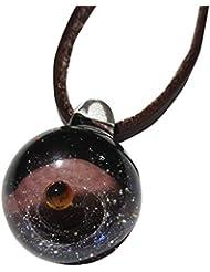 銀河ガラス パープル ゴールドラウンド DW1191