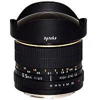 Canonキャノン魚眼/超広角レンズFISH EYE 6.5mm,F/3.5-22