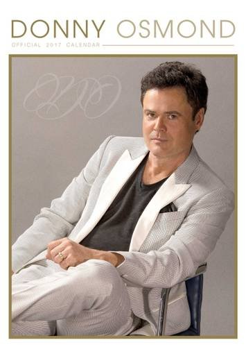 Donny Osmond Official 2017 A3 Calendar
