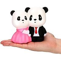 MM & I Squishy ToyジャンボSquishyスーパーウェディングパンダスーパーSlow Rising Squeezeコレクションおもちゃギフト