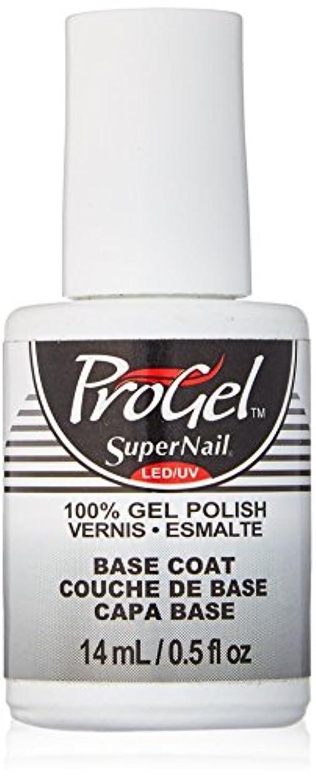 パトロール疎外サークルSuperNail ProGel Gel Polish - Base Coat - 0.5oz/14ml