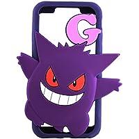 グルマンディーズ ポケットモンスター iPhone7(4.7インチ)対応シリコンケース ゲンガー poke-560c