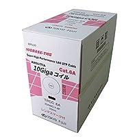 冨士電線 Cat6A 単線 <10G-T>LAN(UTP)ケーブル(200m巻) TPCC6A 23AWGX4P (グリーン)
