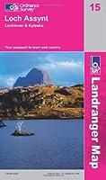 Loch Assynt, Lochinver & Kylesku (OS Landranger Active Map)