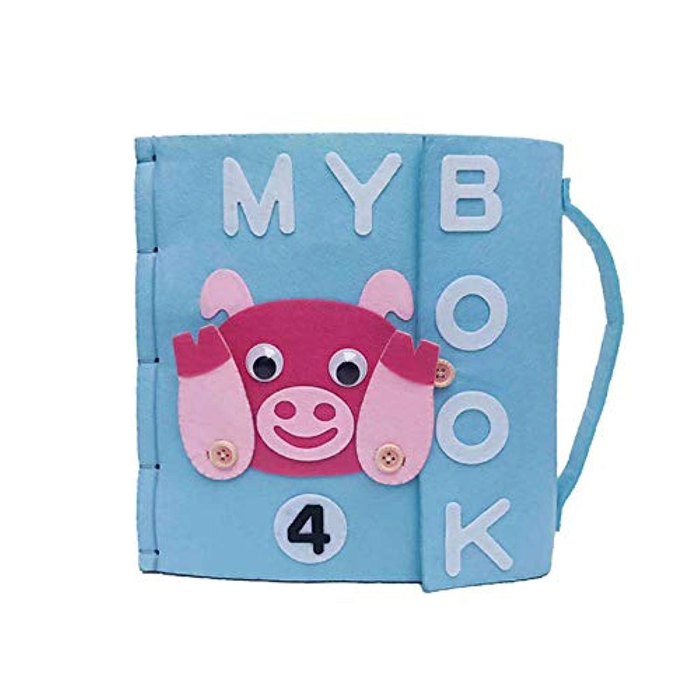 赤ちゃん 本 ものがたり 早期教育 知育おもちゃ 色認識 多色 破れない