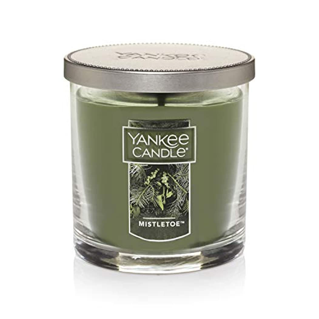 Yankee Candle Mistletoe Small Single WickタンブラーCandle、Festive香り