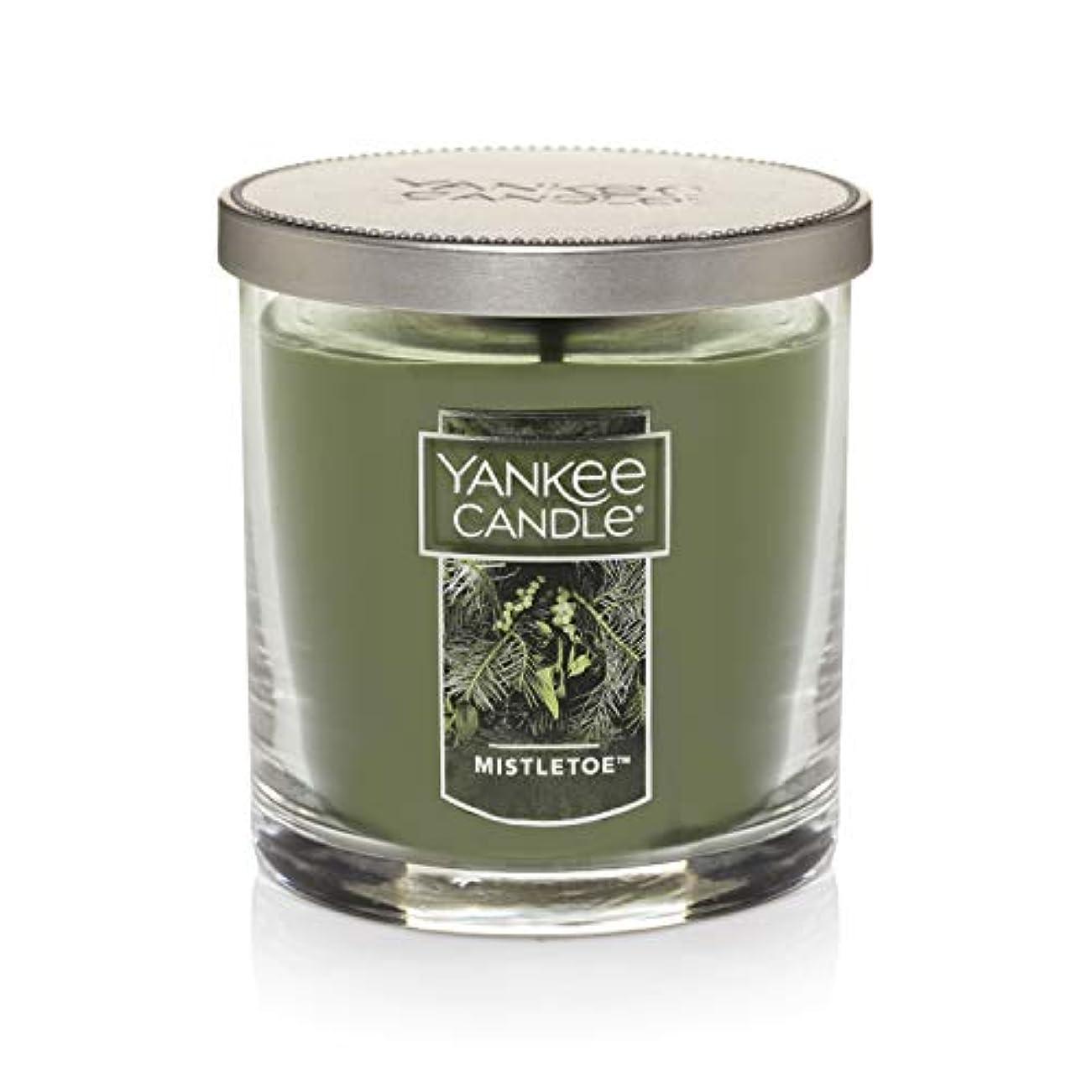 フェデレーション圧縮された適度にYankee Candle Mistletoe Small Single WickタンブラーCandle、Festive香り