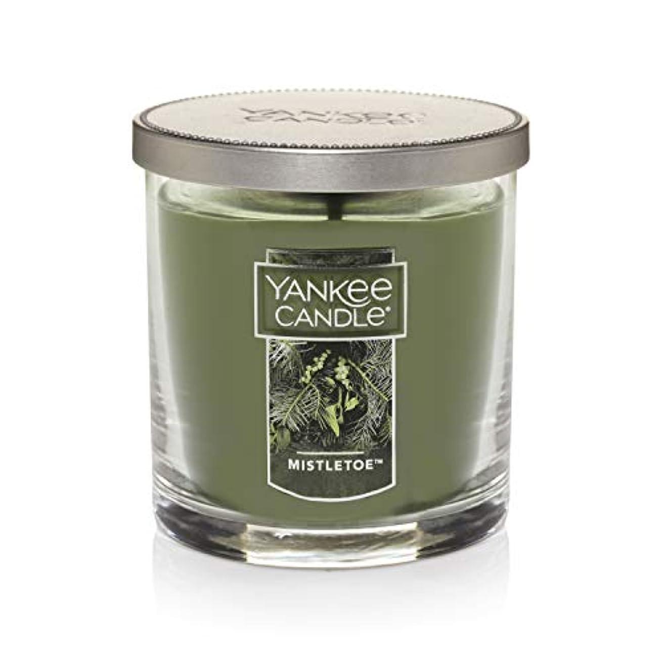 クラウン台無しに頭痛Yankee Candle Mistletoe Small Single WickタンブラーCandle、Festive香り