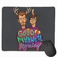 良い神話の朝 マウスパッド 25×30 大判 ノンスリップ 防水 ゲーミング おしゃれ マウスの精密度を上がる