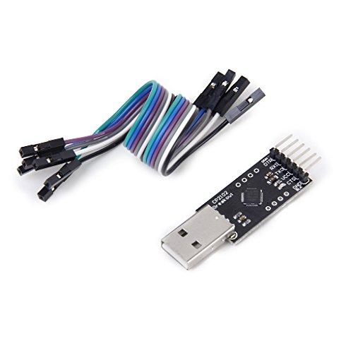 【ノーブランド品】USB→TTL コンバーターモジュール アダプター モジュール CP2102 シリアル変換