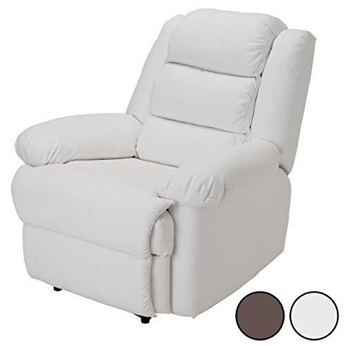 Premier (プルミエ) リクライニングチェア 全2色 ホワイト [ リクライニングソファ リラックスチェア ネイルチェア リクライニング ソファ ソファー イス 椅子 チェア チェアー 1人掛け オットマン付き オットマン 一体型 ]
