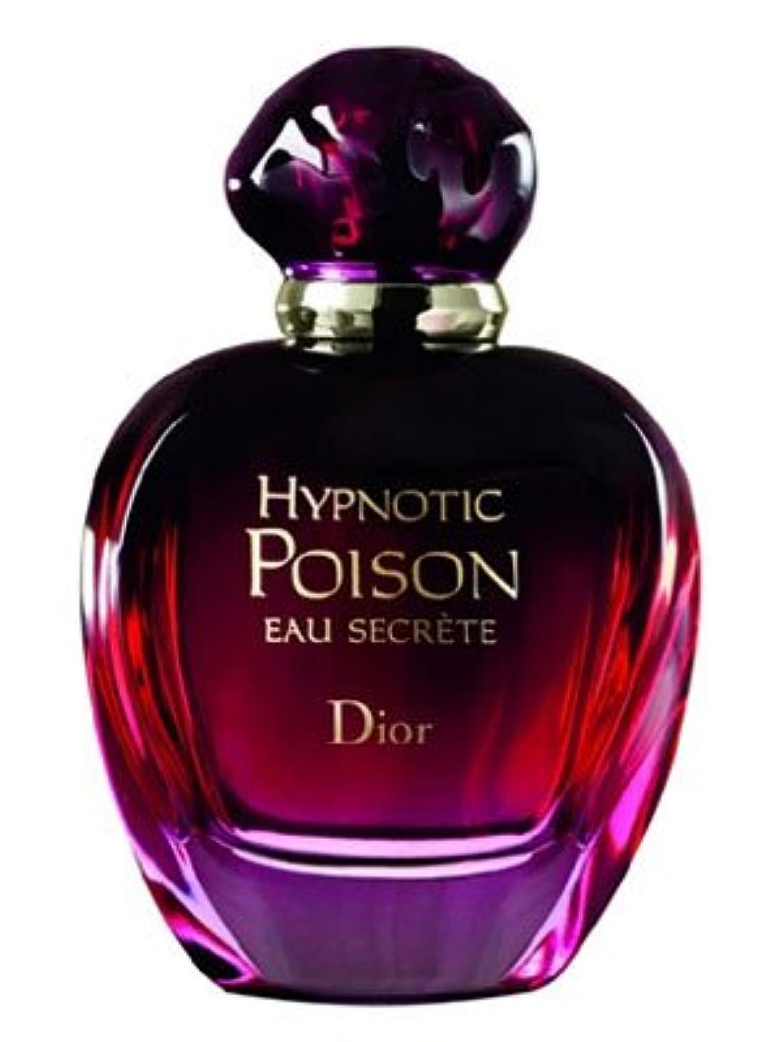原告縮約酸度Hypnotic Poison Eau Secrete (ハイプノティック プワゾン オー シークレット) 3.4 oz (100ml) EDT Spray by Christian Dior for Women