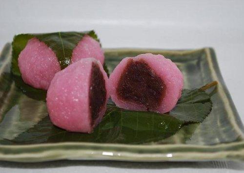 桜餅大50g・さくらもち。桜もち(業務用20個)この大きさで1個75円絶対お買い得!!