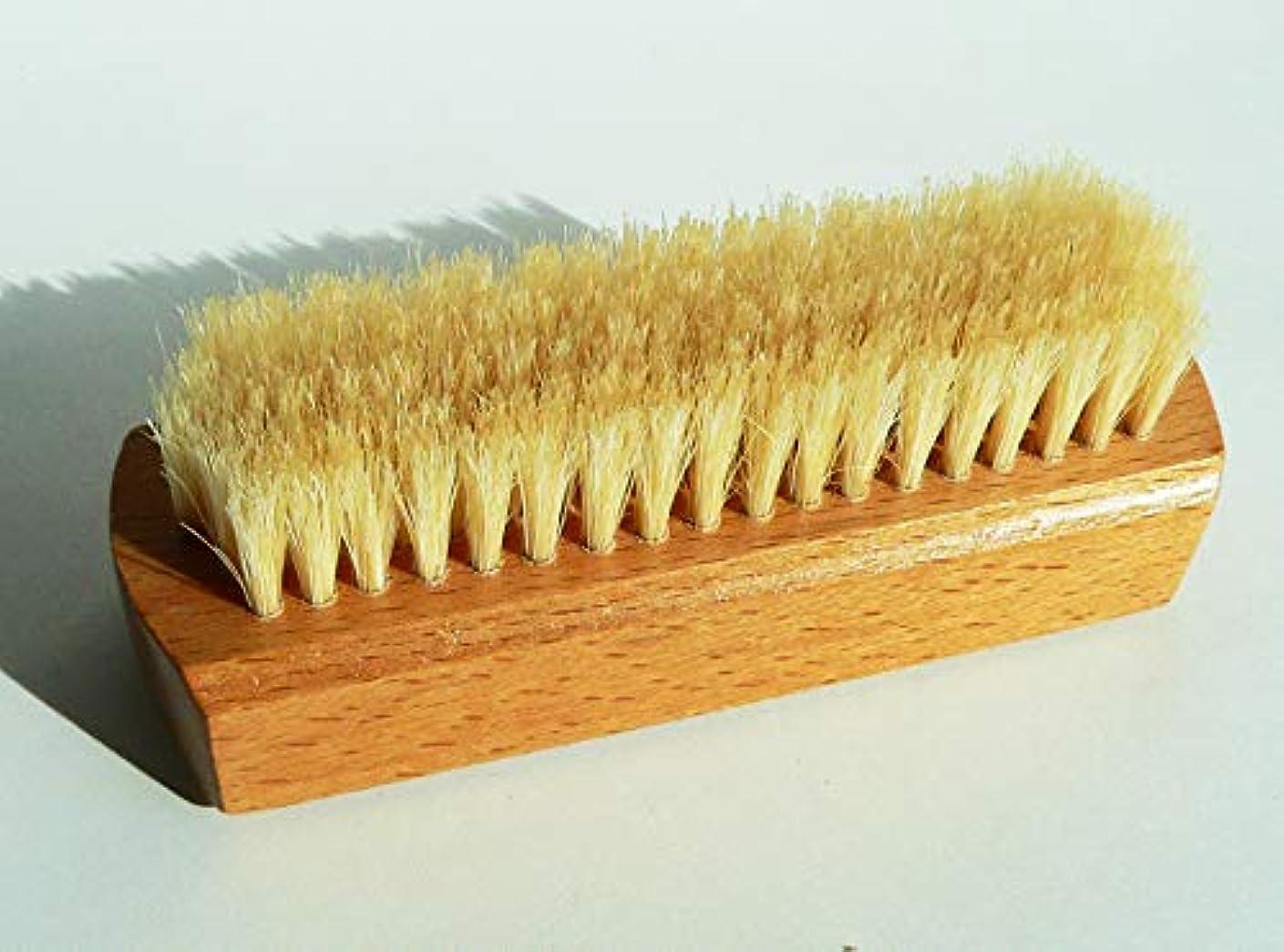 雪だるまを作る泥文字浅草の老舗ブラシ専門店の 爪磨き ネイルブラシ (単品)
