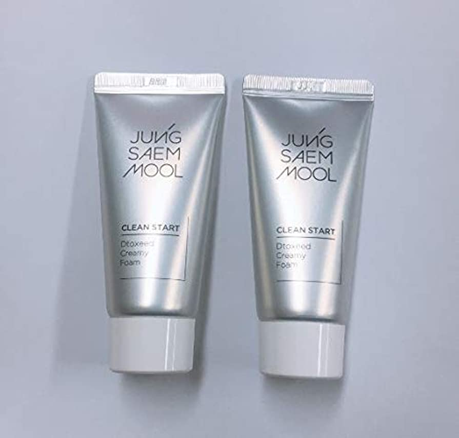 JUNGSAEMMOOL Clean Start Dtoxeed Creamy Foam_(# サンプルサイズ*2個) [並行輸入品]