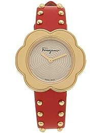 2efd6e0407 [フェラガモ]腕時計 レディース Salvatore Ferragamo SFCR00518 レッド イエローゴールド ...