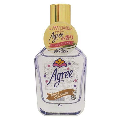 アグリー アグリー Agree フレグランス ボディコロン ローズムスクの香り 30mlの画像
