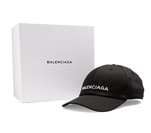 バレンシアガ  BALENCIAGA  帽子 (ブラック) [並行輸入品]