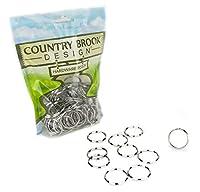 500 - Country Brook Design 2.5cm Split Ring Key Chain Rings