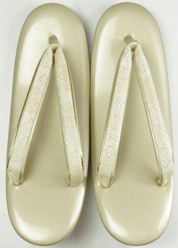 草履フォーマル用 金色 LLサイズ(特大) 留袖、訪問着用 単品 皮製 婦人 和装小物