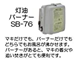 長府 SB-76 マキ焚兼用石油風呂釜用バーナー(CHS-6,CH2S-6) 50Hz専用