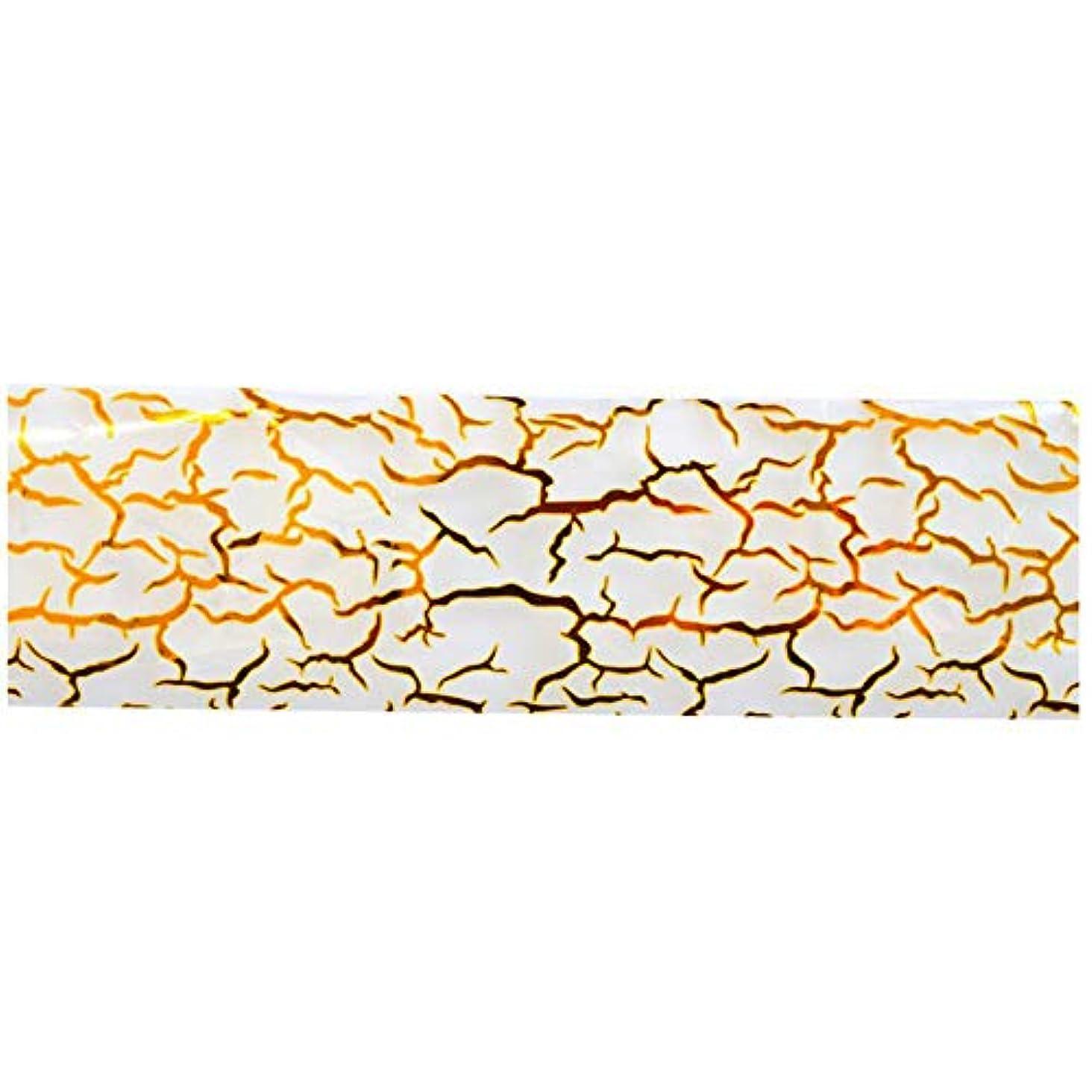 人質割り当てドレイン100cmx4cmグリッターゴールドネイルアートグルーは、マニキュアツールシャイニング箔ステッカーネイルのヒントラップの装飾を転送します
