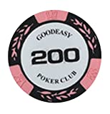 Plus Nao(プラスナオ) ポーカーチップ カジノチップ チップ マーカー 玩具 おもちゃ ゲーム チップメダル パーティー グッズ 雑貨 イベント - 200