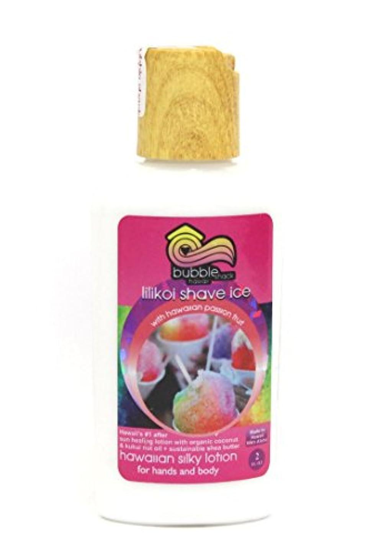 歯科のミュウミュウチチカカ湖ハワイアン雑貨/ハワイ 雑貨 バブルシャック シルキーボディーローション(リリコイシェイブアイス)59ml 【お土産】