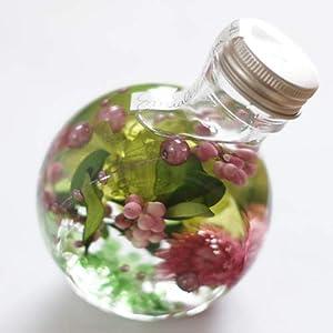 ハーバリウム 丸ボトル (グリーンピンク)の関連商品9