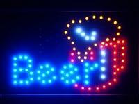 LED看板 サイン 電飾 看板 カフェ バー ADV PRO led071-b Beer Mug Cup Bar Pub LED Neon Sign WhiteBoard